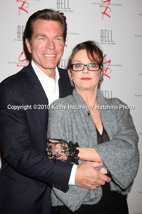 Peter Bergman & Judith Chapman.arrivng at The Young & The Restless 37th Anniversary Dinner.Via Allorro.Beverly Hills, CA.March 9, 2010.©2010 Kathy Hutchins / Hutchins Photo....