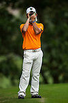Yuki Kamasu of Japan in action during day 3 of the 9th Faldo Series Asia Grand Final 2014 golf tournament on March 20, 2015 at Faldo course in Mid Valley Golf Club in Shenzhen, China. Photo by Xaume Olleros / Power Sport Images