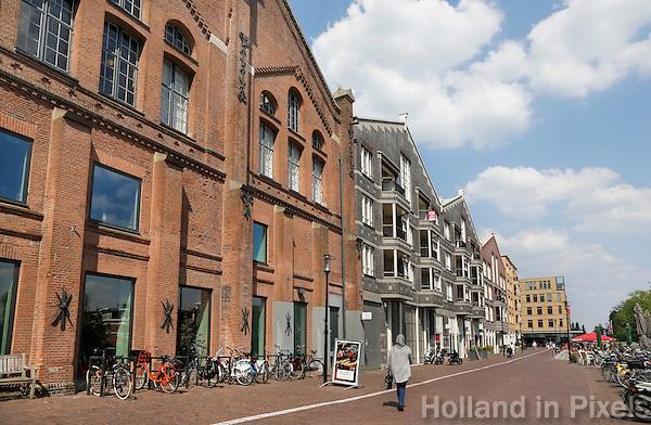 Nederland Amsterdam 2016. De Oostergasfabriek aan de Oranje-Vrijstaatkade. Foto Berlinda van Dam / Hollandse Hoogte