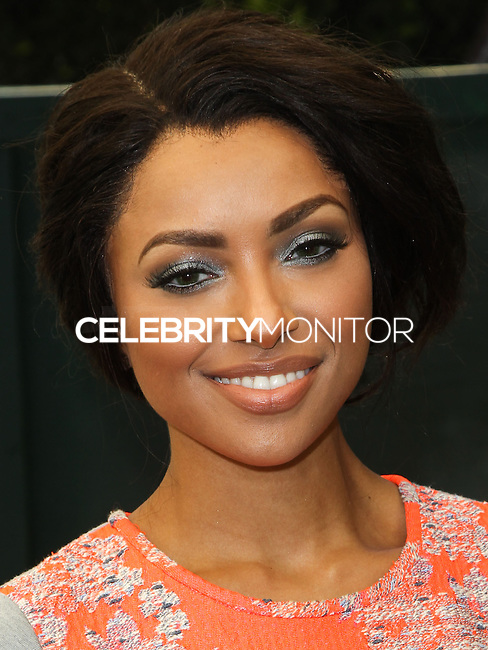 """BEVERLY HILLS, CA, USA - JUNE 14: Kat Graham at the Children Mending Hearts' 6th Annual Fundraiser """"Empathy Rocks: A Spring Into Summer Bash"""" on June 14, 2014 in Beverly Hills, California, United States. (Photo by Celebrity Monitor)"""