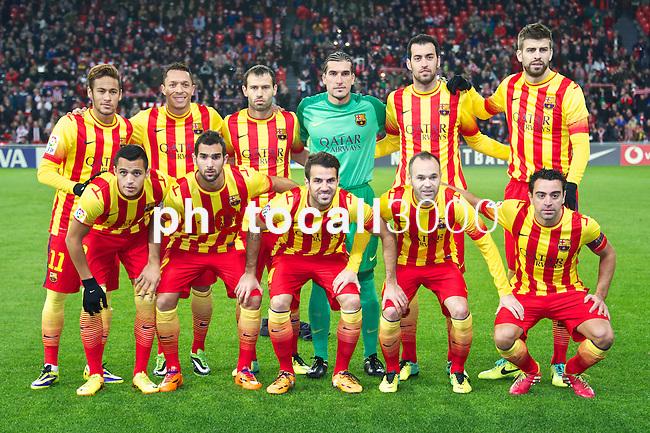 BILBAO.ESPAÑA.FÚTBOL.<br /> Partido de La Liga BBVA entre el Ath.Club y el Barça , a 01/12/2013.<br /> En la imagen :