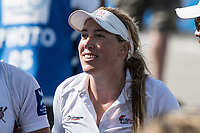 Sarasota. Florida USA.USA Women's Double Scull s Coach Sarah TROWBRIDGE. Sunday Final's Day at the  2017 World Rowing Championships, Nathan Benderson Park<br /> <br /> Sunday  01.10.17   <br /> <br /> [Mandatory Credit. Peter SPURRIER/Intersport Images].<br /> <br /> <br /> NIKON CORPORATION -  NIKON D500  lens  VR 500mm f/4G IF-ED mm. 200 ISO 1/800/sec. f 7.1
