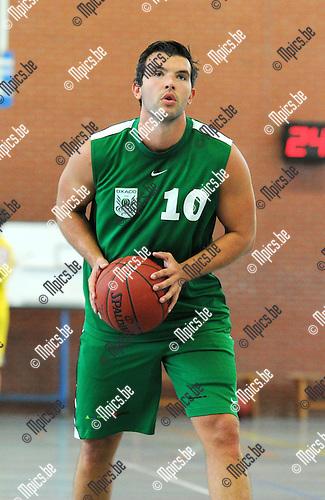 2013-08-15 / Basketbal / seizoen 2013-2014 / Oxaco / Dave Van den Brande<br /><br />Foto: Mpics.be