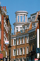 London: From the Salisbury Pub--a zoom up New St. I believe the temple form sits atop the Tesco's at Covent Garden.
