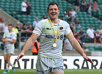Saracens' Alex Goode at the end of the game<br /> <br /> Photographer Rachel Holborn/CameraSport<br /> <br /> Aviva Premiership Final - Exeter Chiefs v Saracens - Saturday 26th May 2018 - Twickenham Stadium - London<br /> <br /> World Copyright &copy; 2018 CameraSport. All rights reserved. 43 Linden Ave. Countesthorpe. Leicester. England. LE8 5PG - Tel: +44 (0) 116 277 4147 -