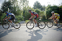 Greg Van Avermaet (BEL/BMC) underway with the breakaway group and eventually to the win<br /> <br /> GP Impanis 2014