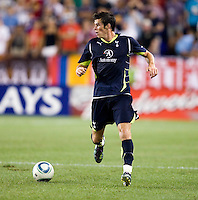 Gareth Bale. Tottenham defeated the New York Red Bulls, 2-1.