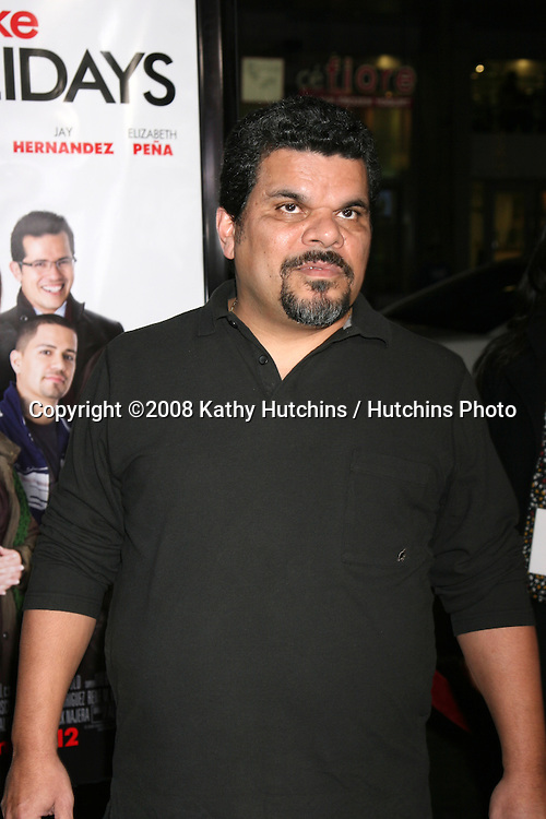 "Luis Guzman arriving at the Premiere of ""Nothing Like the Holidays"" at the Grauman's Chinese Theater in Hollywood, CA.December 3, 2008.©2008 Kathy Hutchins / Hutchins Photo....                ."