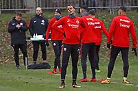 Timothy Chandler (Eintracht Frankfurt) - 05.12.2017: Eintracht Frankfurt Training, Commerzbank Arena