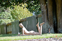 Jin Ling, Dove, Shapeshifter 2014, Civic Gardens, Lower Hutt, Wellington, New Zealand on Sunday 2 March2014.<br /> Photo by Masanori Udagawa.<br /> www.photowellington.photoshelter.com.