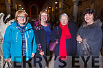 Veronica Kelly (Spa), Ann O'Riordan (Oakpark), Mary Switzer (St Brendan's Park) and Josephine Flood (Kilflynn)  attending the Kerry Choral Union annual Christmas Gala Concert in St. John's Church, Tralee on Sunday evening.