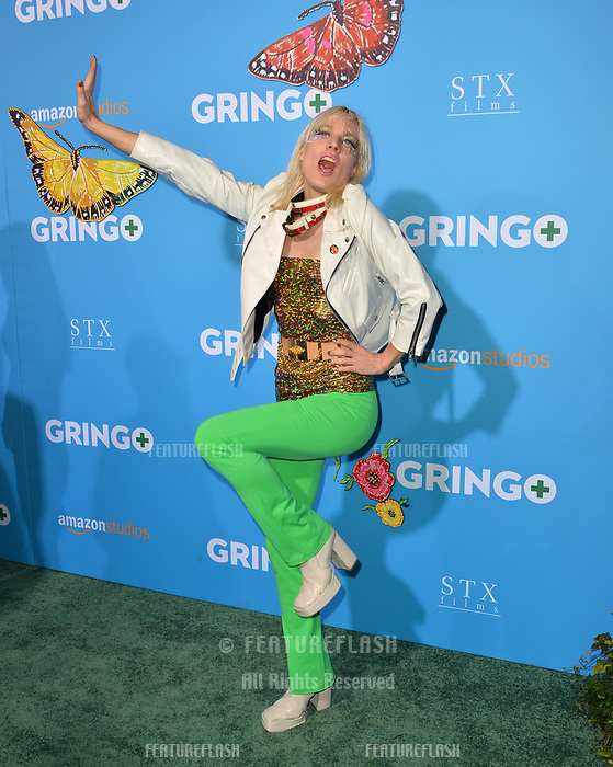 Kate Crash at the world premiere for &quot;Gringo&quot; at the L.A. Live Regal Cinemas, Los Angeles, USA 06 March 2018<br /> Picture: Paul Smith/Featureflash/SilverHub 0208 004 5359 sales@silverhubmedia.com