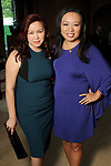 Tammy Nguyen and Miya Shay at the Recipe for Success' Delicious Alchemy Dinner at the home of Becca Cason Thrash Wednesday April 19,2017.(Dave Rossman Photo)