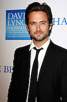 LOS ANGELES, CA - DEC 3: Justin Chatwin at the 3rd Annual 'Change Begins Within' Benefit Celebration presented by The David Lynch Foundation held at LACMA on December 3, 2011 in Los Angeles, California