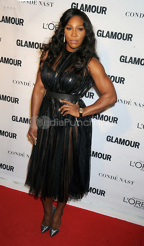 Serena Williams attends Glamour's 25th Anniversary Women Of The Year Awards at Carnegie Hall   on November 9, 2015. Credit: Dennis Van Tine/MediaPunch