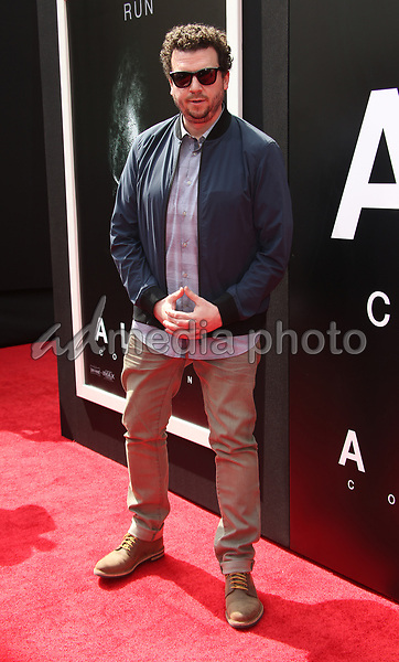 17 May 2017 - Hollywood, California - Danny McBride. Sir Ridley Scott Hand And Footprint Ceremony. Photo Credit: AdMedia