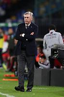 Carlo Ancelotti coach of Napoli dejection<br /> Napoli 01-12-2019 Stadio San Paolo <br /> Football Serie A 2019/2020 <br /> SSC Napoli - Bologna FC<br /> Photo Cesare Purini / Insidefoto