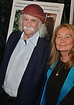 """David Crosby, Jan Dance 014 attends the Premiere Of Sony Pictures Classic's """"David Crosby: Remember My Name"""" at Linwood Dunn Theater on July 18, 2019 in Los Angeles, California."""
