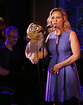 Gary Adler and Anika Larsen during the 'Avenue Q' 15th Anniversary Reunion Concert at Feinstein's/54 Below on July 30, 2018 in New York City.