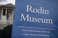 Amérique/Amérique du Nord/USA/Etats-Unis/Vallée du Delaware/Pennsylvanie/Philadelphie : Musée Rodin