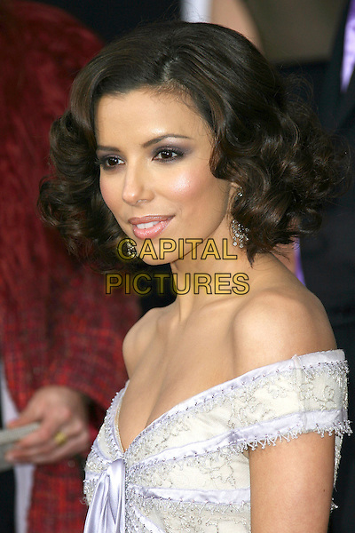 EVA LONGORIA .12th Annual Screen Actors Guild Awards (SAG) held at the Shrine Auditorium, Los Angeles, California..January 29th, 2006.Photo: Zach Lipp/AdMedia/Capital Pictures.Ref: ZL/ADM.headshot portrait off the shoulder.www.capitalpictures.com.sales@capitalpictures.com.© Capital Pictures.