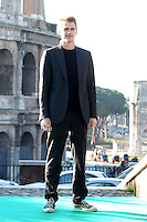 """HAYDEN CHRISTENSEN.Photocall for """"Jumper"""", Rome, Italy..February 6th, 2008.full length black jacket converse trainers sneakers.CAP/CAV.©Luca Cavallari/Capital Pictures."""