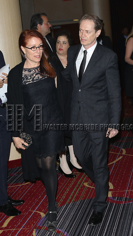 Jo Andres; Steve Buscemi  attending the 2013 Actors Fund Annual Gala at the Mariott Marquis Hotel in New York on 4/29/2013...