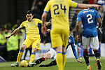 Rob Kiernan tackles Graham Cummins and is sent off