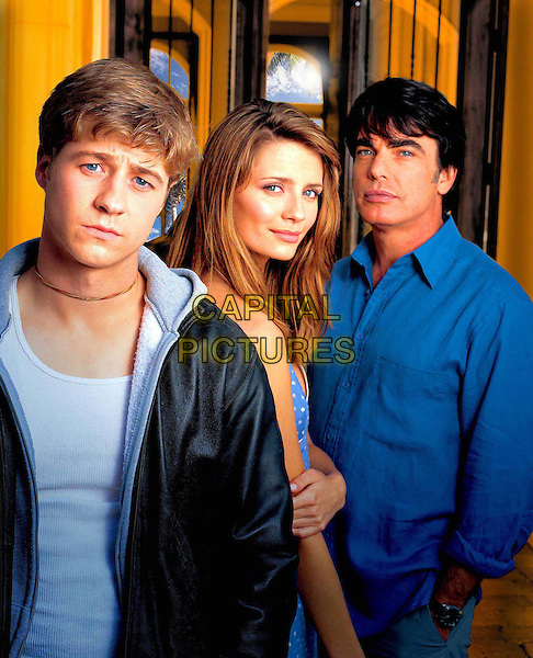 BENJAMIN McKENZIE, MISCHA BARTON & PETER GALLAGHER.in The O.C..Filmstill - Editorial Use Only.Ref: FB.www.capitalpictures.com.sales@capitalpictures.com.Supplied by Capital Pictures