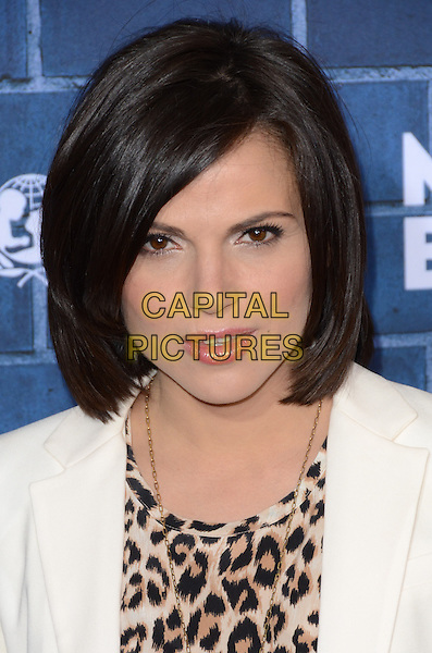 Lana Parrilla.Montblanc Hosts Pre-Oscar Charity Brunch Benefiting UNICEF held at Hotel Bel-Air, Los Angeles, California, USA..February 23rd, 2013.headshot portrait white brown beige leopard print top .CAP/ADM/TW.©Tonya Wise/AdMedia/Capital Pictures