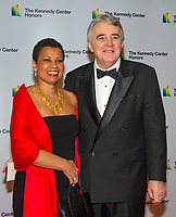 Harolyn Blackwell and her husband, Peter Greer, arrive for the formal Artist's Dinner honoring the recipients of the 41st Annual Kennedy Center Honors hosted by United States Deputy Secretary of State John J. Sullivan at the US Department of State in Washington, D.C. on Saturday, December 1, 2018. The 2018 honorees are: singer and actress Cher; composer and pianist Philip Glass; Country music entertainer Reba McEntire; and jazz saxophonist and composer Wayne Shorter. This year, the co-creators of Hamilton, writer and actor Lin-Manuel Miranda, director Thomas Kail, choreographer Andy Blankenbuehler, and music director Alex Lacamoire will receive a unique Kennedy Center Honors as trailblazing creators of a transformative work that defies category.<br /> CAP/MPI/RS<br /> &copy;RS/MPI/Capital Pictures