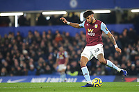 Tyrone Mings of Aston Villa in action during Chelsea vs Aston Villa, Premier League Football at Stamford Bridge on 4th December 2019