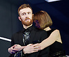 Macbeth <br /> by William Shakespeare <br /> at Young Vic, London, Great Britain <br /> press photocall <br /> 2nd December 2015 <br /> <br /> John Heffernan as Macbeth <br /> <br /> Anna Maxwell Martin as Lady Macbeth <br /> <br /> <br /> <br /> Photograph by Elliott Franks <br /> Image licensed to Elliott Franks Photography Services