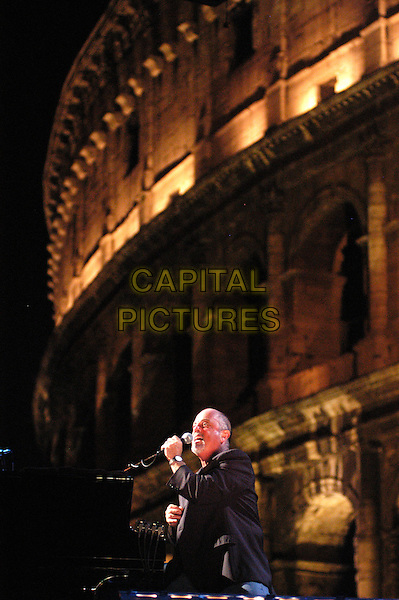 BILLY JOEL.In concert at the Coloseum, Rome, Itlay,.July 31st 2006..live on stage band muic gig half length playing piano.Ref: CAV.www.capitalpictures.com.sales@capitalpictures.com.©Luca Cavallari/Capital Pictures.