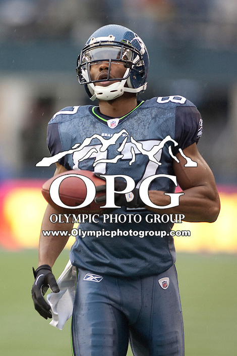 Nov 27, 2011: Seattle's #87 Ben Obomanu against Wshington.  Washington defeated Seattle 23-17 at CenturyLink Field in Seattle,WA.