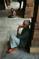 Ahmadabad, India, March 2002.At least 800 people, mainly belonging to the Muslem minority lost their lives during the intercommunal riots, the survivors are fearful of their Hindu neighbours.