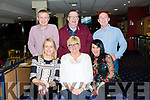 Liz Delaney celebrates her 50th birthday with friends at the Kingdom Greyhound Stadium on Friday Pictured Claire Malloy, Liz Delaney, Suzanne Doherty Back Oliver Malloy, John Delaney and Martin Doherty