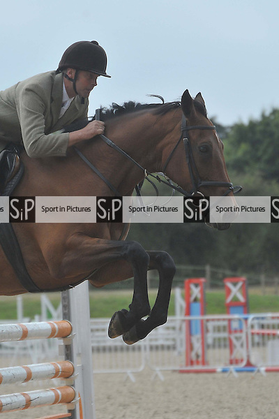 Class 10. British Showjumping (BS) Seniors outdoor. Brook Farm Training Centre. Essex. 27/08/2016. MANDATORY Credit Ellie Ingram/Sportinpictures - NO UNAUTHORISED USE - 07837 394578