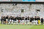 Gladbachs Spieler feiern den Sieg nach dem Schlusspfiff -<br /><br />27.06.2020, Fussball, 1. Bundesliga, Saison 2019/2020, 34. Spieltag, Borussia Moenchengladbach - Hertha BSC Berlin,<br /><br />Foto: Johannes Kruck/POOL / via / Meuter/Nordphoto<br />Only for Editorial use