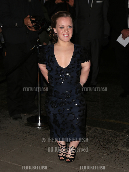 Ellie Simmonds arriving for the Harper's Bazaar Women of the Year Awards 2012 at Claridge's Hotel, London. 31/10/2012 Picture by: Henry Harris / Featureflash