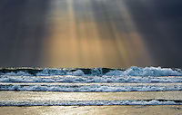 Sun Rays Lighting up the Pacific Ocean