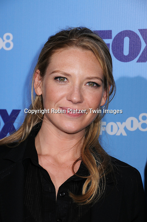 "Anna Torv of ""Fringe""..posing for photographers at the FOX Upfront 2008 programming presentation on May 15, 2008 at Wollman Rink in Central Park in  New York City.....Robin Platzer, Twin Images"