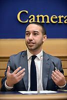 Roma, 8 Maggio 2017<br /> Khalid Chaouki, partito Democratico<br /> Una maglia blu per Sirine, Conferenza stampa sulla cittadinanza per l'atleta Sirine.