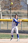 during a college softball game in Carson City, Nev., on Friday, March 22, 2013..Photo by Cathleen Allison
