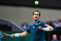 12-02-14, Netherlands,Rotterdam,Ahoy, ABNAMROWTT,Andy Murray(GRB)<br /> Photo:Tennisimages/Henk Koster