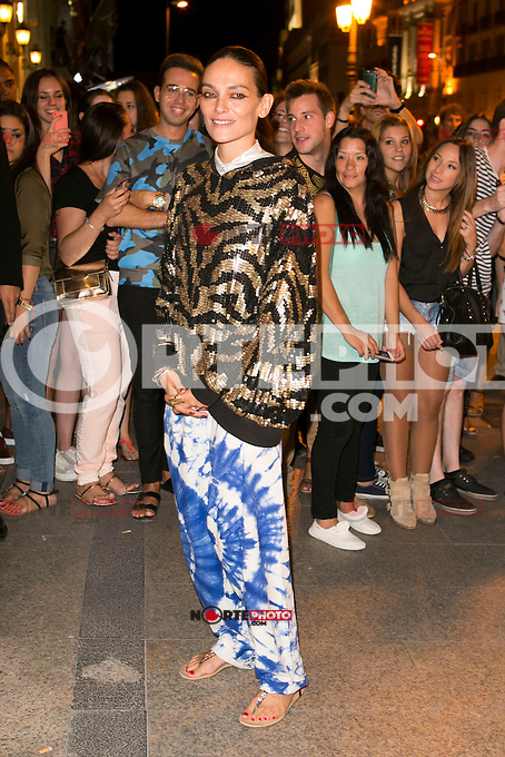 Laura Ponte attends the party of Nike and Roberto Tisci at the Casino in Madrid, Spain. September 15, 2014. (ALTERPHOTOS/Carlos Dafonte) /NortePhoto.com