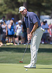 John Smoltz during the American Century Championship at Edgewood Tahoe Golf Course in Stateline, Nevada, Sunday, July 15, 2018.