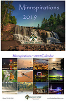 "Enjoy stunning photographs of the regions in all seasons. Includes holidays, special events, full/new moon phases, solstices, and full caption descriptions. Photographs were created by the award-winning husband and wife photography team of Gary L. Fiedler and Dawn M. LaPointe of Radiant Spirit Gallery. 12 month wall calendar measures 17"" x 11"" when hanging, 11"" x 8.5"" when folded; spiral bound and printed on heavy, glossy stock. Enjoy ""Minnspirations"" year-round!"