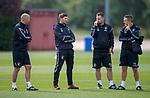 01.08.2018 Rangers training: Steven Gerrard with his assistants