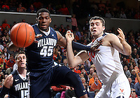 /v435/ and Virginia center Mike Tobey (10) during the game Dec. 19, 2015 in Charlottesville, Va. Virginia defeated Villanova 86-75. Photo/Andrew Shurtleff